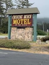 Crescent Beach Hotel Sign